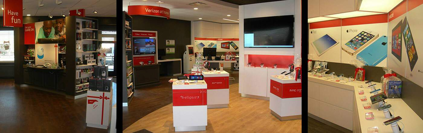 Verizon Store Interior