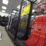 hockey stick display