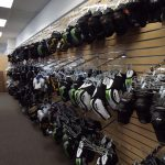 elbow pad wall racks