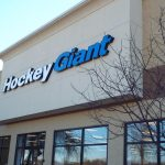 hockey giant building sign