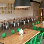 Freshii tables