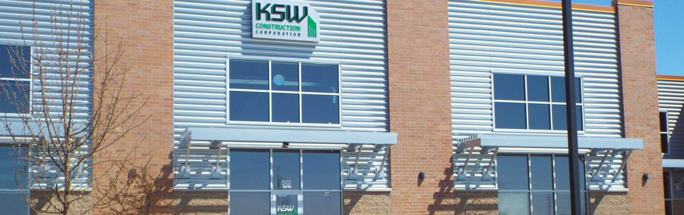 KSW Construction Building Exterior