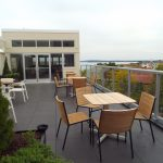 Rooftop tables and chairs