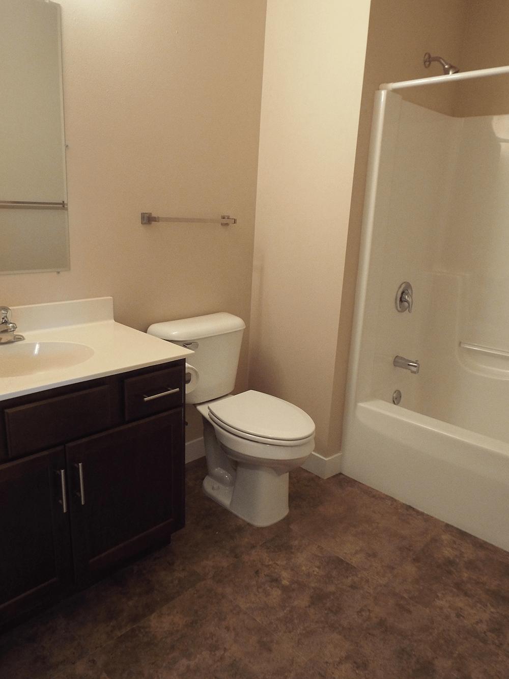 Whitewater Townhomes Washroom