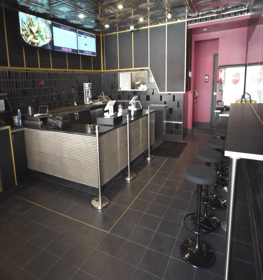 Disco Fries Kitchen area
