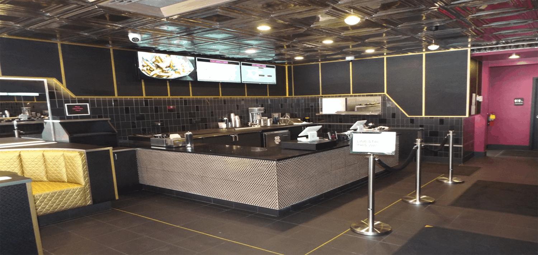 Disco Fries order area