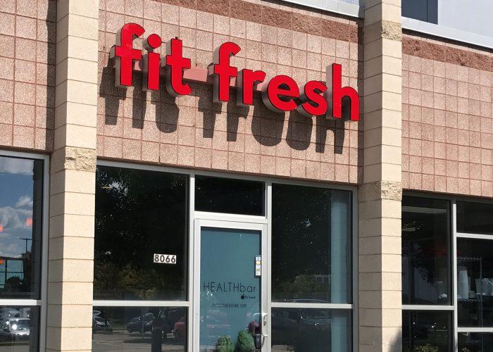 Fit Fresh Cuisine Entrance